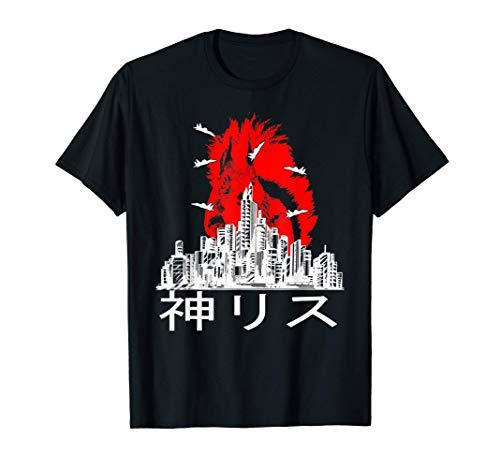 Ardilla divertida linda parodia ciudad regalo divertido Camiseta