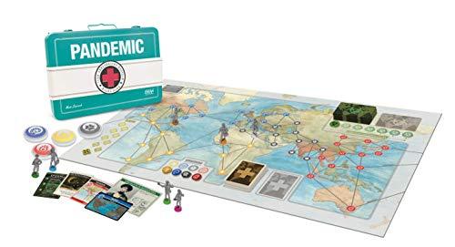 Asmodee - Pandemic 10th Anniversary Edition - Juego de Mesa, Multicolor, 8392