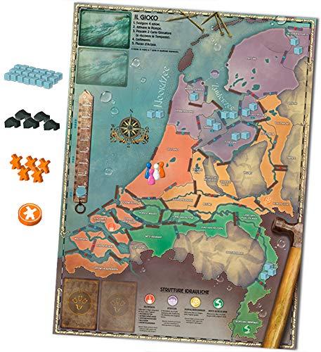 Asmodee - Pandemic Alta Marea Juego de Mesa, Multicolor, 8391