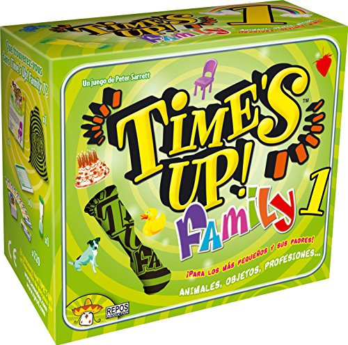 Asmodee - Time's Up! Family 1, Juego de Mesa (Repos TUF01ES)