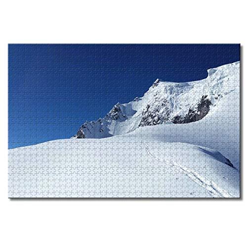 Austria St. Anton Ski Resort Tirol Rompecabezas para Adultos niños 1000 Piezas Recuerdos de Viaje Juego Educativo Familiar Rompecabezas de Madera Regalos