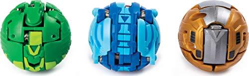 Bakugan Starter 3 Pack - Mix 2 - Peonzas (Batalla de trompos, Multicolor, De plástico, 6 año(s), Niño/niña, China) , color/modelo surtido