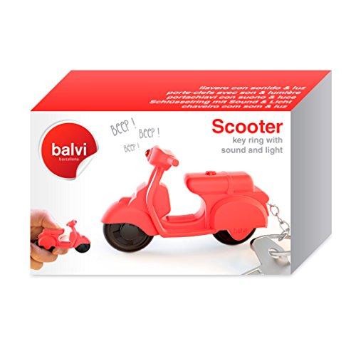 Balvi-ScooterLlaveroconSonidoyluz