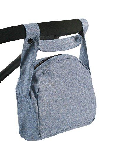 Bayer Chic 200085350–Muñecas de Bolso Cambiador Jeans, Azul