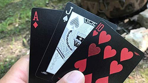 Bee Silver Stinger Juego de cartas por USPCC y funda protectora transparente para cartas