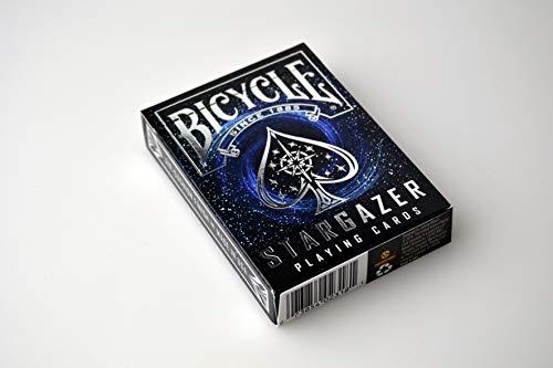 Bicycle Stargazer Baraja de Cartas Especial, Color Negro, Poker (1034630)