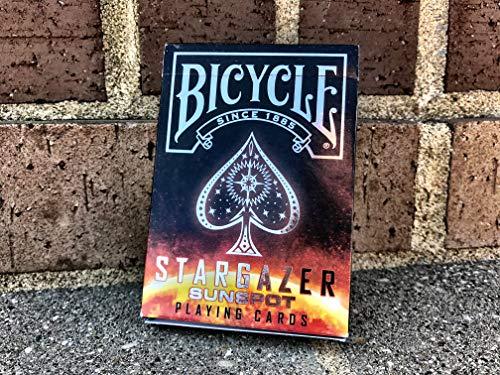 Bicycle- Stargazer Sunspot Baraja de Cartas de Colección, Color Brillante, Poker (4350063462)