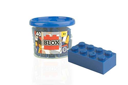 Blox - Bote de 40 Bloques, Color Azul (Simba 4118881)