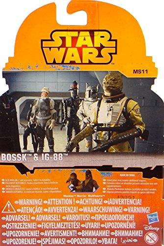 Bounty Hunter Bossk y IG-88 Episodio V Mission Series MS11 Star Wars Rebels Saga Legends 2015 Hasbro / Disney