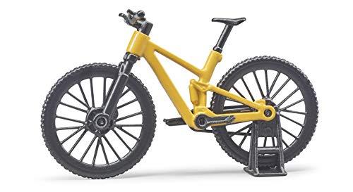 Bruder Bworld 63111 - Bicicleta de montaña con Ciclista