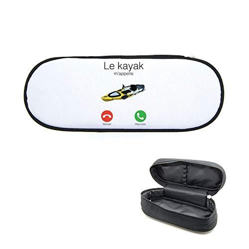 Caja de lápices impreso el kayak M 'appelle