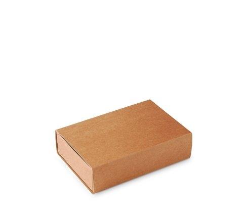 Caja Tipo de cerillas, Packaging de Regalo. Color Kraft. Pack de 50 Unidades - M