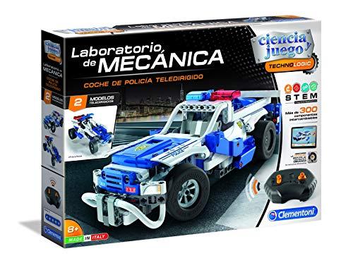 Clementoni - Ciencia y Juego Laboratorio de Mecánica - Coche de Policía Teledirigido (55333)
