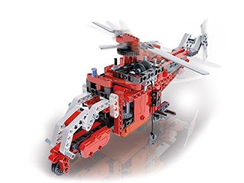 Clementoni- Ciencia y Juego Laboratorio de mecánica, vehículos de Emergencia (55200.9)