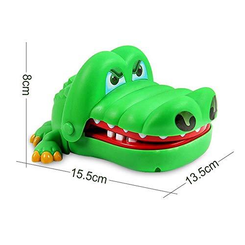 Cocodrilo Dedo penetrante Divertido Juego Juguetes para niños Kid Adultos Boca del cocodrilo del Dentista por Adultos de los niños Linda de la Boca del cocodrilo del