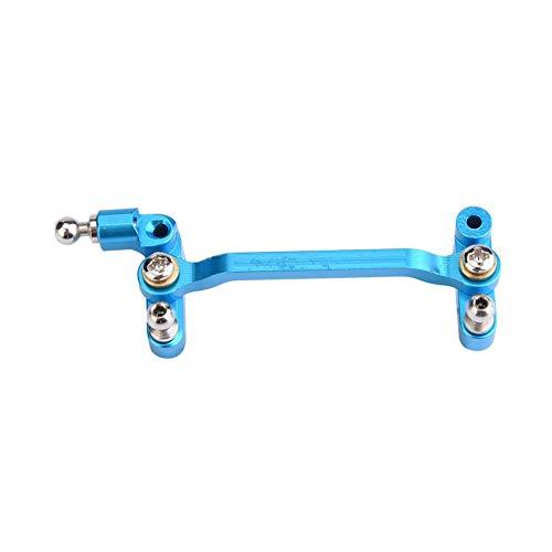 Componente de Dirección de Coche RC, Metal Parte de Dirección RC para Wltoys A949/A959/A969/A979/K929-B RC Coche Repuesto(Azul)