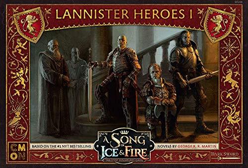 CoolMiniOrNot CMNSIF209 Ice and Fire Una canción de Hielo y Fuego: Miniaturas de Mesa Game-Lannister Heroes I, Colores Variados