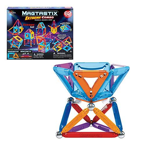 Cra-Z-Art - Juego magnético Magtasti x E x treme Combo 62 piezas (ColorBaby 46296)