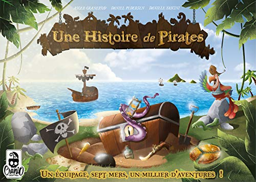 Cranio Creations-UNE Historia de Piratas, CCTOP01FR