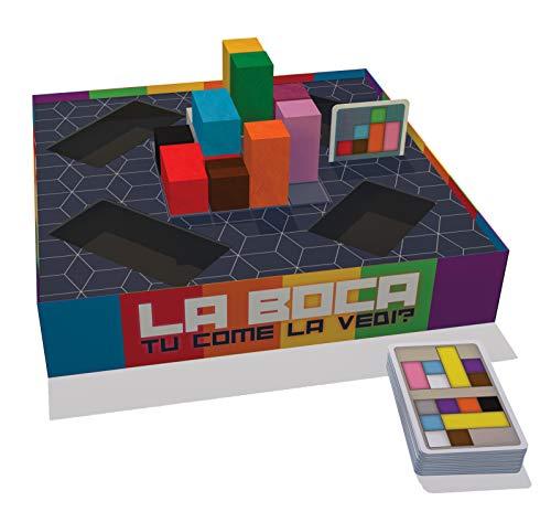 CreativaMente-La Boca-Juego en Caja, Multicolor (404)