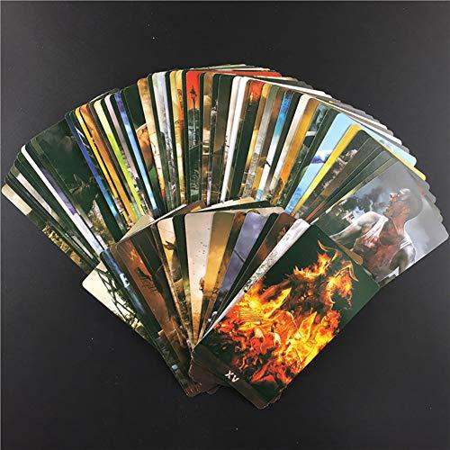 Dark Themes Tarot Z Kit Tarot Cards Funny Friends Playing Family Party Juego de Mesa Tarjetas de Regalo