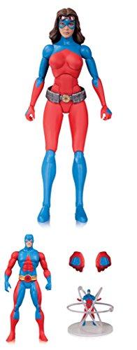 DC Comics AUG150316 Icons Atomica Forever Evil Deluxe Figura de acción