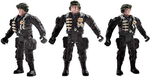 deAO Vehículos de Combate Modelo Die-Cast a Pequeña Escala Figuras Coleccionables Conjunto Playset Fuerzas Armadas y Unidad de Defensa Militar