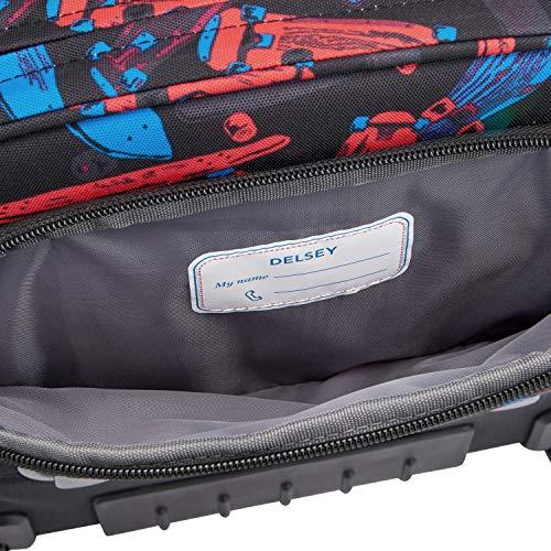 DELSEY Paris – Pack de Sistema Vertical ergonómico de 15,6 Pulgadas, Color Negro