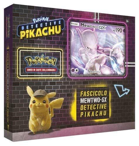 Detective Pikachu Fascicolo Mewtwo GX - Italiano