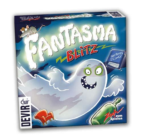 Devir El Laberinto mágico, Juego de Mesa + Fantasma Blitz Juego de Mesa, 13 x 4 x 13 cm, Multicolor, única (BGBLITZ)
