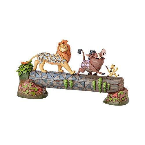 """Disney Traditions, Figura de Hakuna Matata: Pumba, Timón y Simba de """"El Rey León"""", para coleccionar, Enesco"""