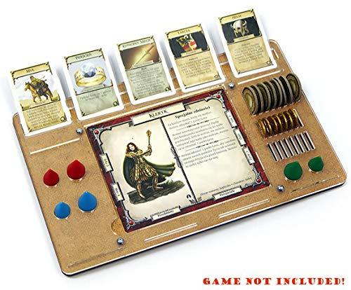 docsmagic.de 4 x Player Organizer for Talisman- Tablero de Jugadores