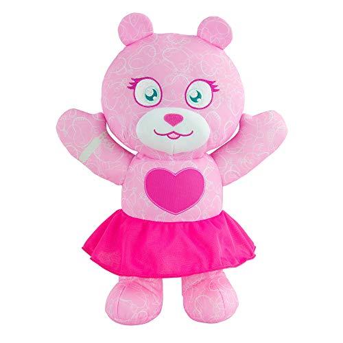 Doodle Bear 14 Inch Plush Toy w/ 3 Washable Markers - Fashion