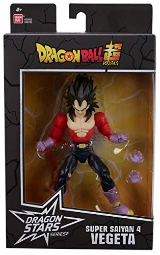 Dragon Ball Super - Figura de acción Deluxe (VEGETA SUPER SAIYAN 4)