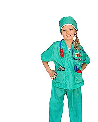 Dress Up America Juego de Vestuario de rol de Cirujano de niños