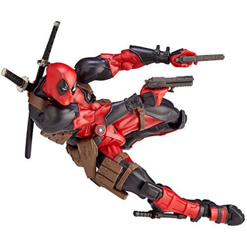 EASTVAPS 16cm Super Hero X-Men Deadpool Figura Variante Movible PVC Figuras de acción Colección Modelo de Juguete