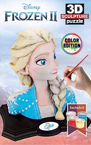 Educa- Frozen II 3D Sculpture Puzzle, Multicolor (18374)