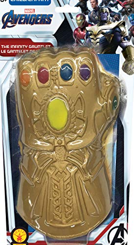 Endgame Guantelete del inito Thanos, Multicolor, (Rubie'S 200449)