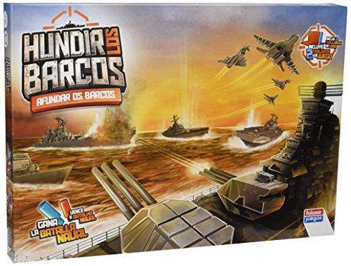 Falomir Hundir los Barcos, Juego de Mesa, Clásicos (646382) , color/modelo surtido