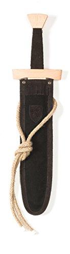 Fantashion WS 115 Espada Set Corta, Ropa, Negro / marrón Oscuro