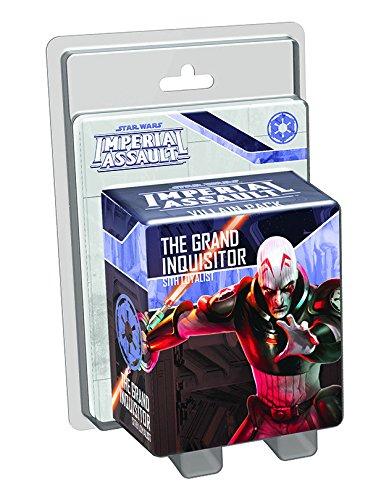 Fantasy Flight Games FFGSWI30 Star Wars Imperial Assault The Grand Inquisitor Villain Pack Figura de plástico