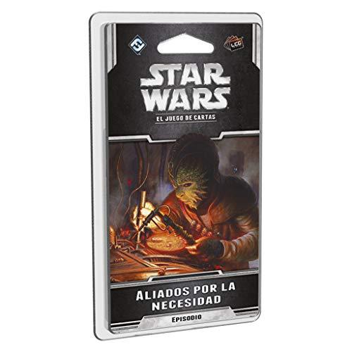 Fantasy Flight Games Star Wars LCG-Aliados por la Necesidad-Español, Multicolor (FFSWC37)