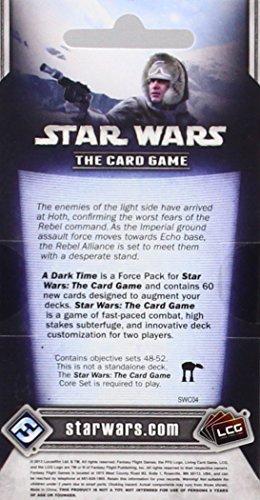 Fantasy Flight Games Star Wars lcg: Tiempos tenebrosos-español, única (EDGSWC04)