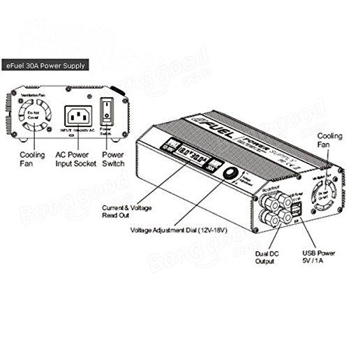 Frontier SKYRC 540W 30a eFuel conmutación de alimentación ac / dc
