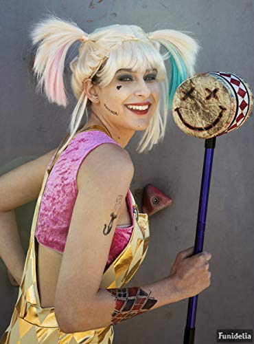 Funidelia | Mazo de Harley Quinn - Birds of Prey Oficial para Hombre y Mujer ▶ Superhéroes, DC Comics, Suicide Squad, Villanos, Accesorio para Disfraz