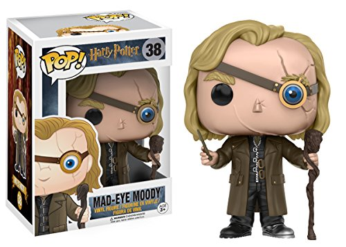 Funko Mad-Eye Moody Figura de Vinilo, colección de Pop, seria Harry Potter, Multicolor, Talla única (10990)