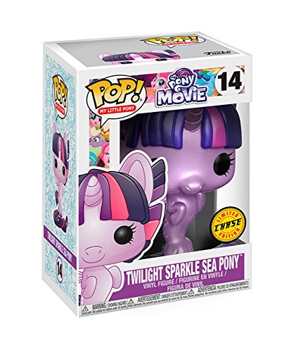 Funko My Little Pony Película Pop Twilight Sparkle Sea Pony Figura de Vinilo
