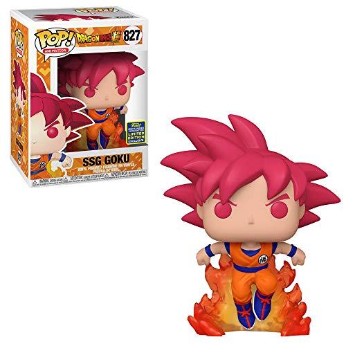 Funko Pop! 47865 Dragon Ball Super #827 Super Saiyan God Goku (2020 Summer Convention Exclusive)