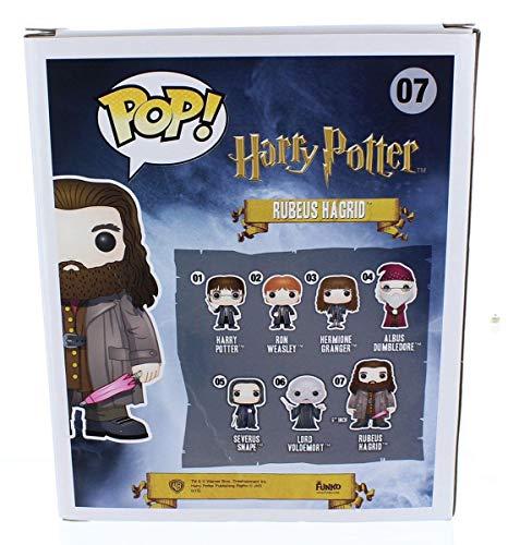 "Funko Pop!- 5864 Vinyl: Harry Potter: 6"" Rubeus Hagrid, Multicolor"