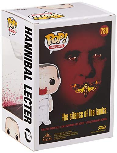 Funko Pop! Figura de Vinilo: Películas: Silence of Lambs - Hannibal BD, Multicolor, Estándar